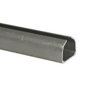 Essentials schuifdeurrail S40-K75 aluminium 200 cm
