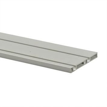 Essentials schuifdeurrail S10 kunststof wit 260 cm