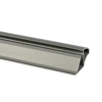 Greepprofiel 260cm voor schuifdeur PVC aluminium