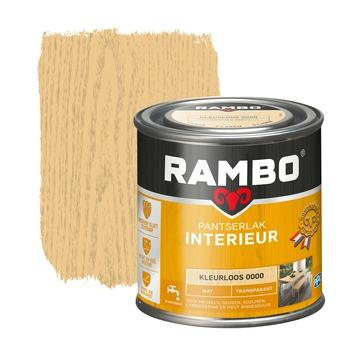 Rambo pantserlak interieur transparant mat kleurloos 250 ml