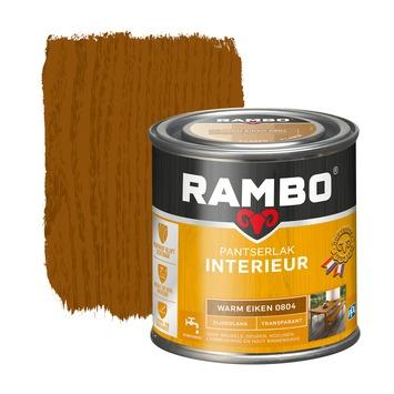 Rambo pantserlak interieur transparant zijdeglans warm eiken 250 ml