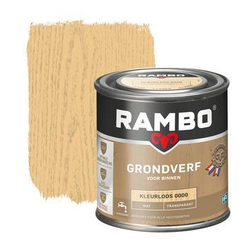 Rambo grondverf transparant mat kleurloos 250 ml