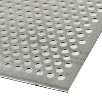 Bekend GAMMA | Plaat aluminium geperforeerd 100x50 cm kopen? | aluminium YI23