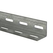 Hoekijzer geperforeerd staal 38x38 mm 2 meter