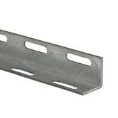 Hoekijzer geperforeerd staal 27x27 mm 2 meter