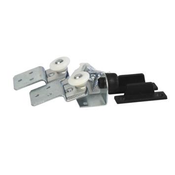 Essentials schuifdeurrailset S20 staal