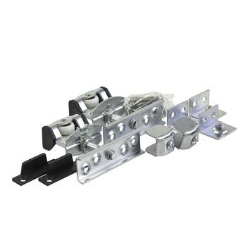 Essentials schuifdeurrailset S40 staal