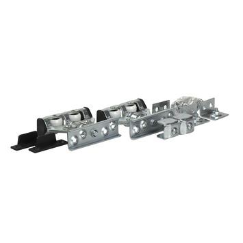Essentials schuifdeurrelset S75 staal