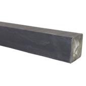Tuinpaal grijs grenen 270x6,8x6,8 cm
