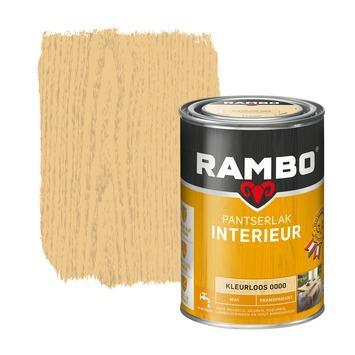 Rambo pantserlak interieur transparant mat kleurloos 1,25 liter