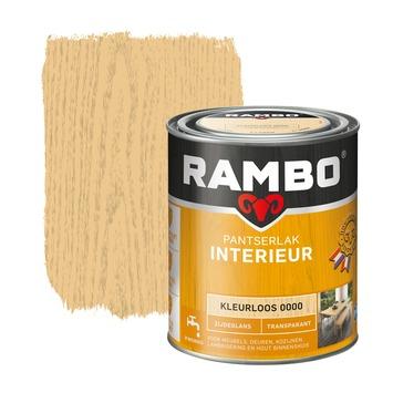 Rambo pantserlak interieur transparant zijdeglans kleurloos 750 ml