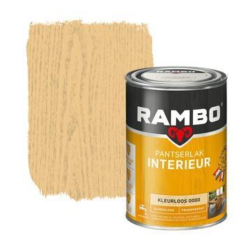Rambo pantserlak interieur transparant zijdeglans kleurloos 1,25 liter