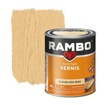 Rambo pantser vernis mat kleurloos 750 ml