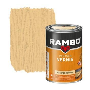 Rambo pantser vernis zijdeglans kleurloos 1,25 liter