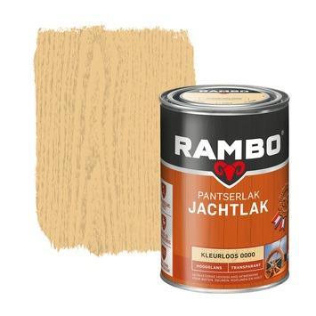 Rambo pantser jachtlak transparant hoogglans kleurloos 1,25 liter