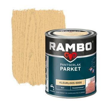 Rambo pantserlak parket transparant mat kleurloos 750 ml