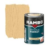 Rambo pantserlak parket transparant mat kleurloos 1,25 liter
