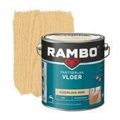 Rambo pantserlak vloer transparant mat kleurloos 2,5 liter