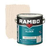 Rambo pantserlak vloer transparant mat whitewash 2,5 liter