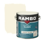 Rambo pantserlak vloer acryl dekkend zijdeglans cremewit 2,5 liter