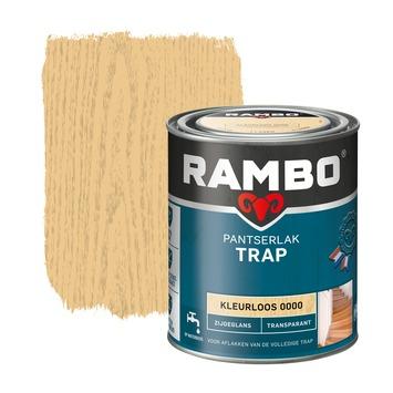 Rambo pantserlak trap transparant zijdeglans kleurloos 750 ml