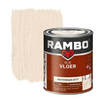 Rambo vloer olie transparant mat whitewash 750 ml