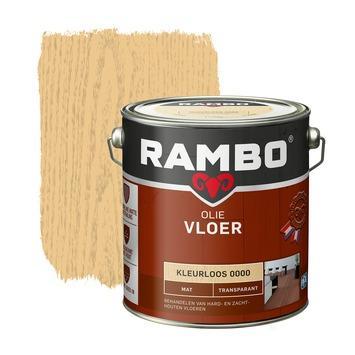 Rambo vloer olie transparant mat kleurloos 2,5 liter