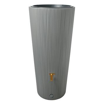 Garantia Regenton met plantenbak grijs 220 Liter