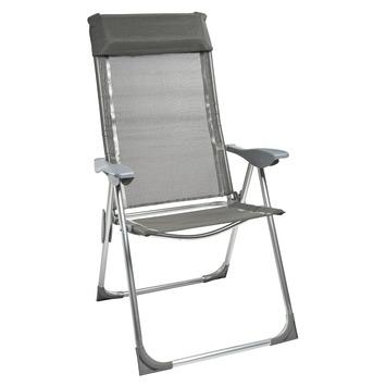 Gamma standenstoel met 5 standen aluminium textileen for Standenstoel tuin