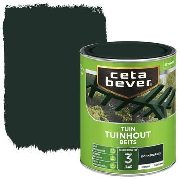 Cetabever tuinhout beits dekkend donkergroen zijdeglans 750 ml
