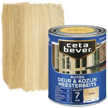Cetabever deur & kozijn meesterbeits transparant blank glans 750 ml