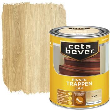 Cetabever trappenlak transparant blank zijdeglans 750 ml