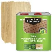 Cetabever vlonder & terras olie bankirai 2,5 liter