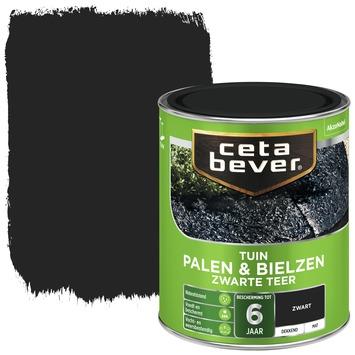 Cetabever palen & bielzen zwarte teer 750 ml