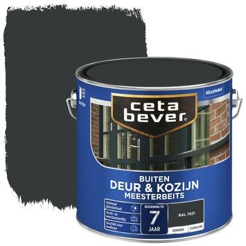 Cetabever deur & kozijn meesterbeits dekkend zijdeglans RAL 7021 (zwartgrijs) 2,5 liter