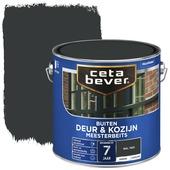 Cetabever deur & kozijn meesterbeits dekkend RAL 7021 (zwartgrijs) 2,5 liter