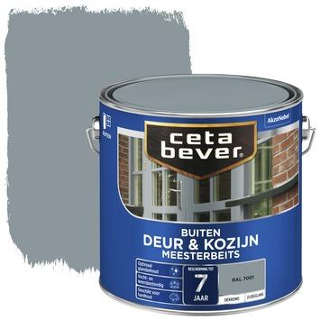 Cetabever deur & kozijn meesterbeits dekkend zijdeglans RAL 7001 2,5 liter