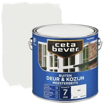 Cetabever deur & kozijn meesterbeits dekkend zijdeglans wit 2,5 liter