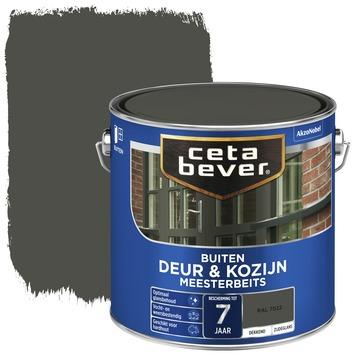 Cetabever deur & kozijn meesterbeits dekkend zijdeglans RAL 7022 2,5 liter