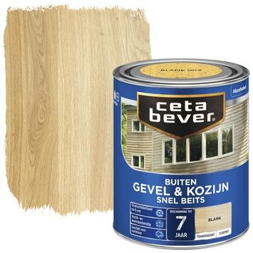Cetabever gevel & kozijn snel beits transparant blank zijdemat 750 ml