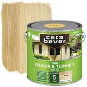 Cetabever schuur- & tuinhuis transparant blank 2,5 liter