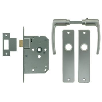 NEMEF insteekslot loopslot 1255/96 met krukgarnituur Doorn 50mm
