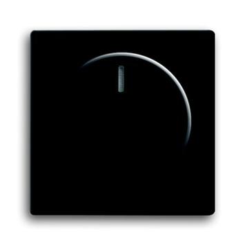 Busch-Jaeger Future Linear centraalplaat dimmer zwart