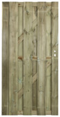 Tuinpoort royal recht 180x90cm grenen