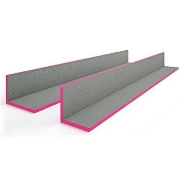 Qboard Qorner bouwplaat hoekelement 260x15x15cm 20mm