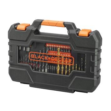 Black+Decker boren en bitset 104-delig A7230-XJ