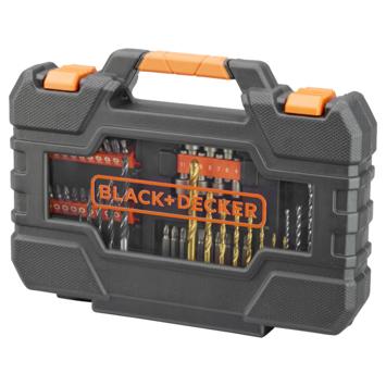 Black+Decker boren en bitset 76-delig A7231-XJ