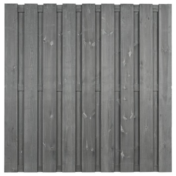Schutting Royal Grijs Grenen ca. 180x180 cm