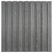 Schutting royal recht grijs 180x180cm