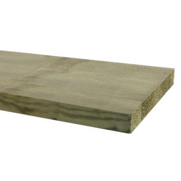 Tuinplank ruw ca. 2,2x20 cm, lengte ca. 240 cm